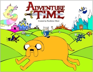 Finn and Jake in the Land of Ooo