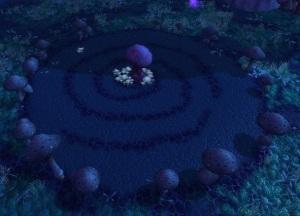 Mushroom Crop Circle