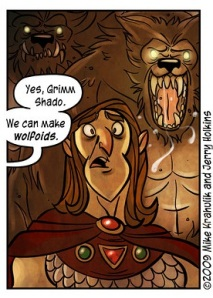 The Original Wolfoids from Penny Arcade