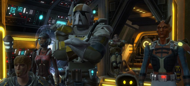 If there was anything that could really be improved from the Bounty Hunter storyline? MORE BLIZZ. Make it so, Bioware.